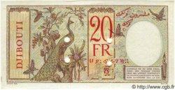 20 Francs au paon DJIBOUTI  1947 P.07Bs pr.NEUF