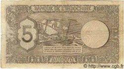 """5 Francs """"Palestine"""" DJIBOUTI  1945 P.14 TB+"""