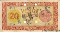 20 Francs Palestine DJIBOUTI  1945 P.15 TTB+