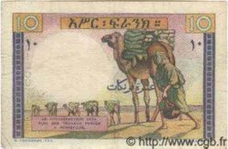 10 Francs type 1946 DJIBOUTI  1946 P.19 TB+ à TTB