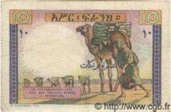 10 Francs DJIBOUTI  1946 P.19 TB+ à TTB