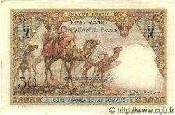 50 Francs DJIBOUTI  1952 P.25 SPL