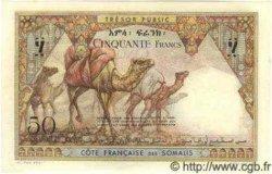 50 Francs DJIBOUTI  1952 P.25 NEUF