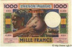 1000 Francs DJIBOUTI  1952 P.28s SPL