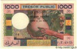 1000 Francs AFARS ET ISSAS  1974 P.32s NEUF