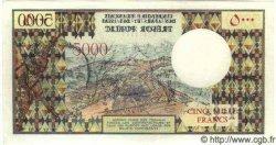 5000 Francs AFARS ET ISSAS  1975 P.35 NEUF