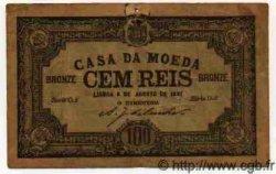 100 Reis PORTUGAL  1891 P.035 TB