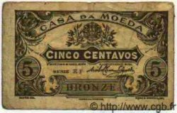5 Centavos Casa Da Moeda PORTUGAL  1918 P.047 TB à TTB