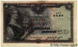 50 Centavos PORTUGAL  1920 P.052b