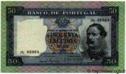 50 Escudos PORTUGAL  1960 P.079 SUP