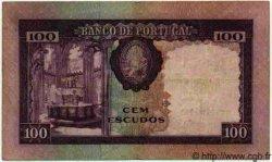 100 Escudos PORTUGAL  1961 P.087 TTB