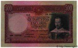 500 Escudos PORTUGAL  1952 P.096 SPL