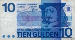 10 Gulden  NETHERLANDS  1968 P.091a