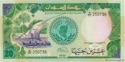 20 Pounds  SUDAN  1985 P.35