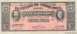5 Pesos  MEXICO  1915 PS.0532c