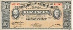 10 Pesos  MEXICO  1915 PS.0534b