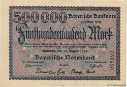 500000 Mark  GERMANY Munich 1923 PS.0930