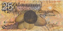 25 Rupees  SEYCHELLES  1979 P.24a