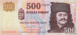 500 Forint  HUNGARY  2001 P.188a