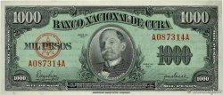 1000 Pesos CUBA 1950 P.084