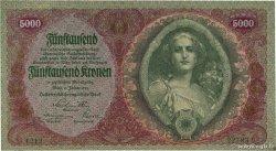 5000 Kronen AUTRICHE 1922 P.079