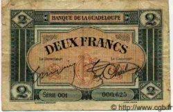2 Francs GUADELOUPE  1925 P.13 TB