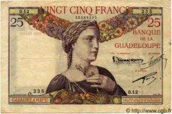 25 Francs GUADELOUPE  1934 P.14 TTB