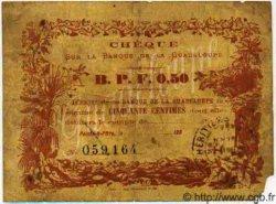 50 Centimes GUADELOUPE  1900 P.20B TB