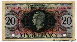 20 Francs Type Dulac GUADELOUPE  1943 P.28s