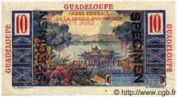 10 Francs Colbert GUADELOUPE  1946 P.32s pr.SUP