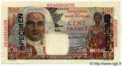100 Francs La Bourdonnais GUADELOUPE  1946 P.35s NEUF