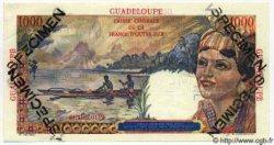 1000 Francs Union Française GUADELOUPE  1946 P.37s pr.NEUF
