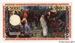 5000 Francs Antillaise GUADELOUPE  1955 P.40 pr.SPL