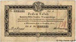 1 Talar POLOGNE  1810 P.A12 TB+