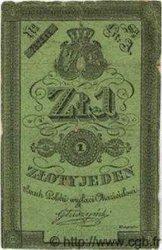 1 Zloty POLOGNE  1831 P.A22 TB+
