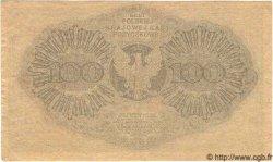 100 Marek POLOGNE  1919 P.018b TTB