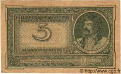 5 Marek POLOGNE  1919 P.020b TTB