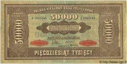 50000 Marek POLOGNE  1922 P.033 pr.SUP