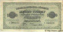 500000 Marek POLOGNE  1923 P.036 TTB