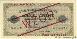 500000 Marek POLOGNE  1923 P.036s NEUF