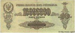 10 Millions Marek POLOGNE  1923 P.039 TTB+