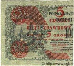 5 Groszy POLOGNE  1924 P.043a SPL