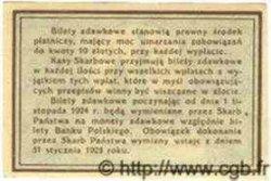 10 Groszy POLOGNE  1924 P.044
