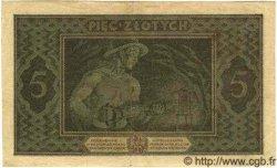 5 Zlotych POLOGNE  1926 P.049 TTB+