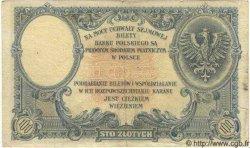 100 Zlotych POLOGNE  1924 P.057 TB