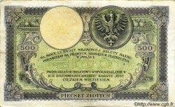 500 Zlotych POLOGNE  1924 P.058 TTB