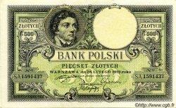 500 Zlotych POLOGNE  1924 P.058 pr.SUP