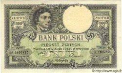 500 Zlotych POLOGNE  1924 P.058