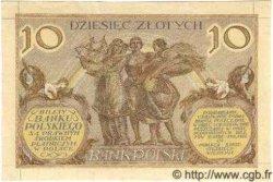 10 Zlotych POLOGNE  1926 P.066 SPL