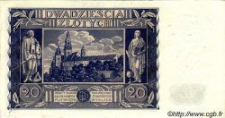 20 Zlotych POLOGNE  1936 P.077 SUP